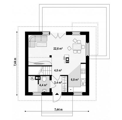 """двухэтажный жилой дом """"Герцог"""""""