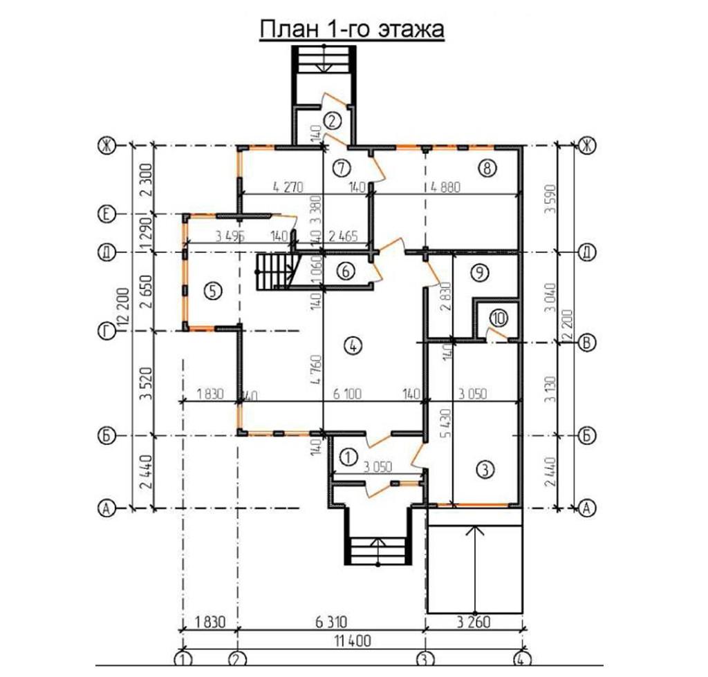 """Двухэтажный жилой дом """"Ашбурн"""""""