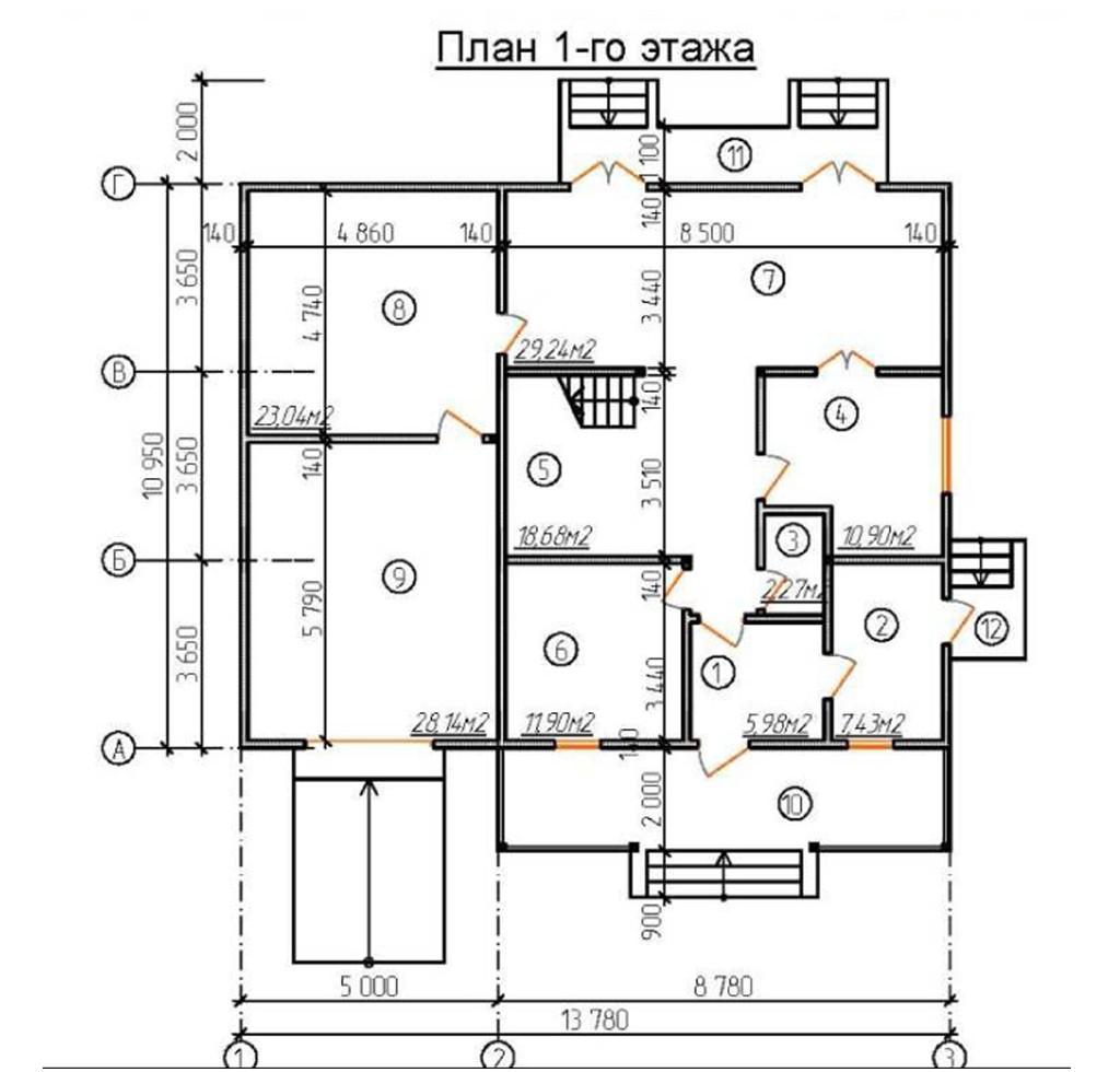 """Двухэтажный жилой дом """"Версаль"""""""