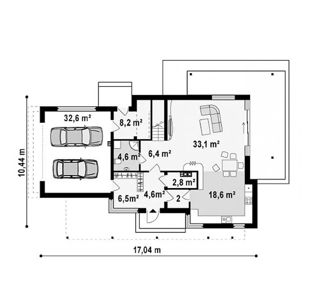 """Двухэтажный жилой дом """"Венера"""""""