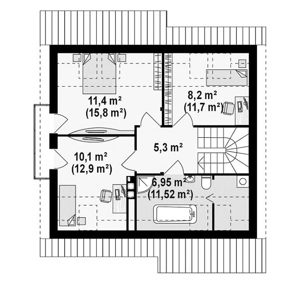 """двухэтажный жилой дом """"ницца"""""""