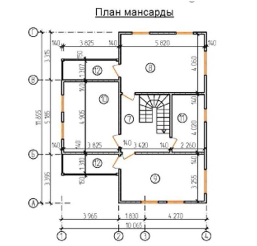 """Двухэтажный жилой дом """"Солнечный"""""""