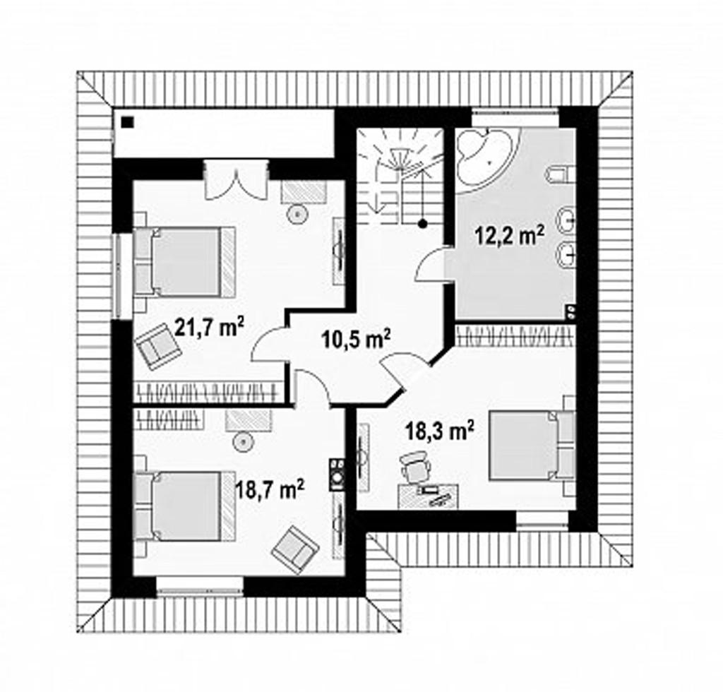 """Двухэтажный жилой дом """"Барон"""""""