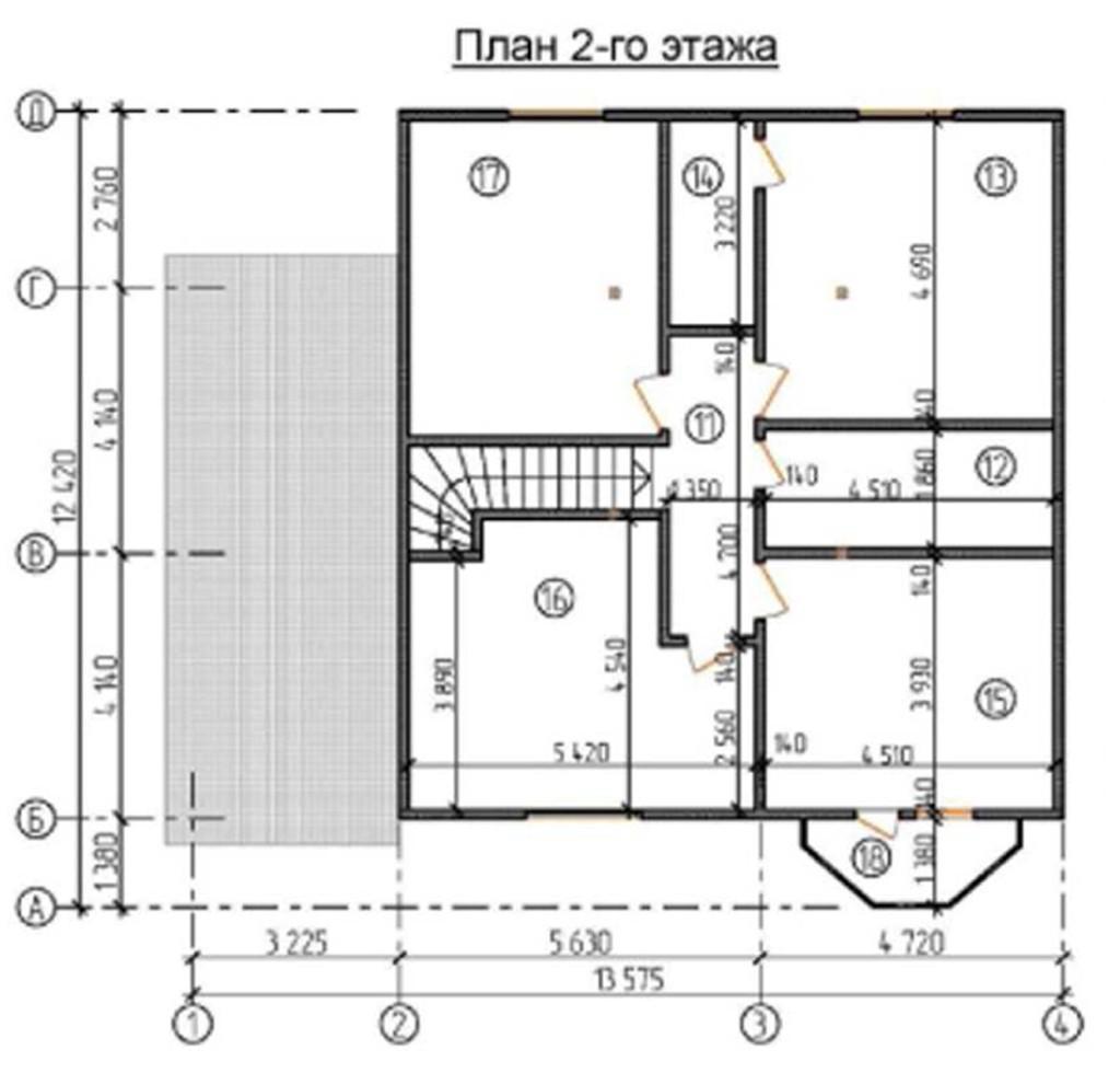 """Двухэтажный жилой дом """"МП-2"""""""