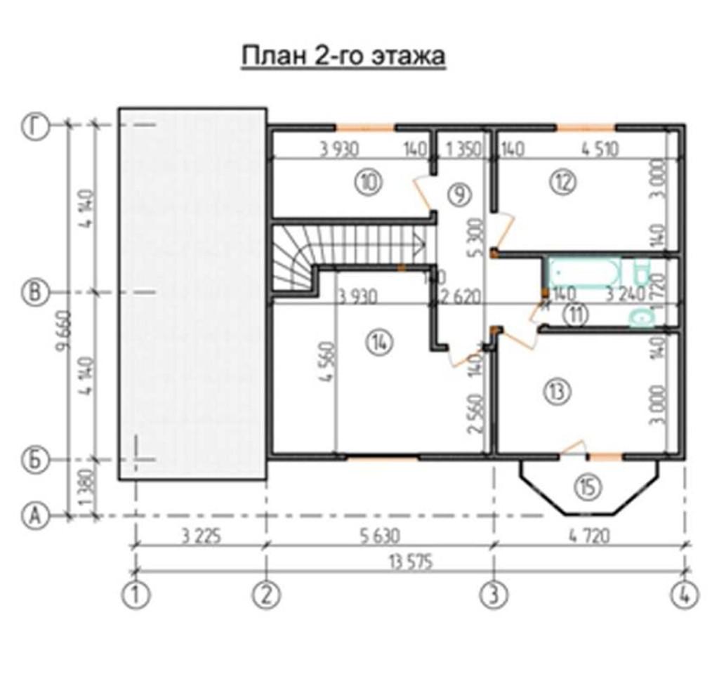 """Двухэтажный жилой дом """"МП"""""""