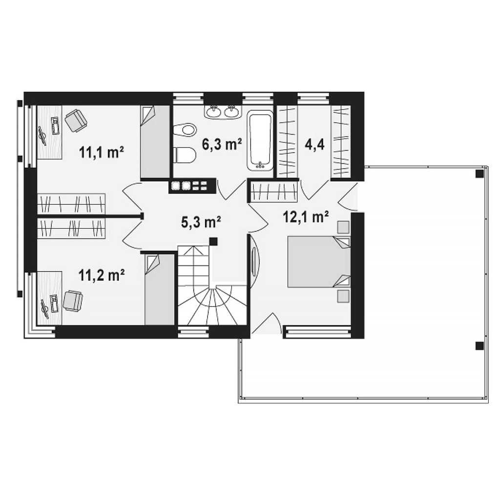 """двухэтажный жилой дом """"майами"""""""