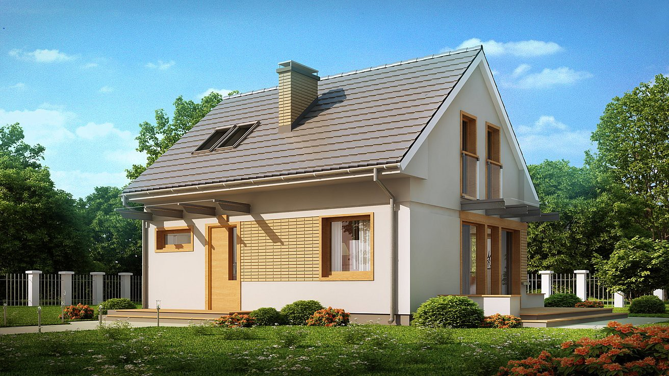 """двухэтажный жилой дом """"Семейный"""""""