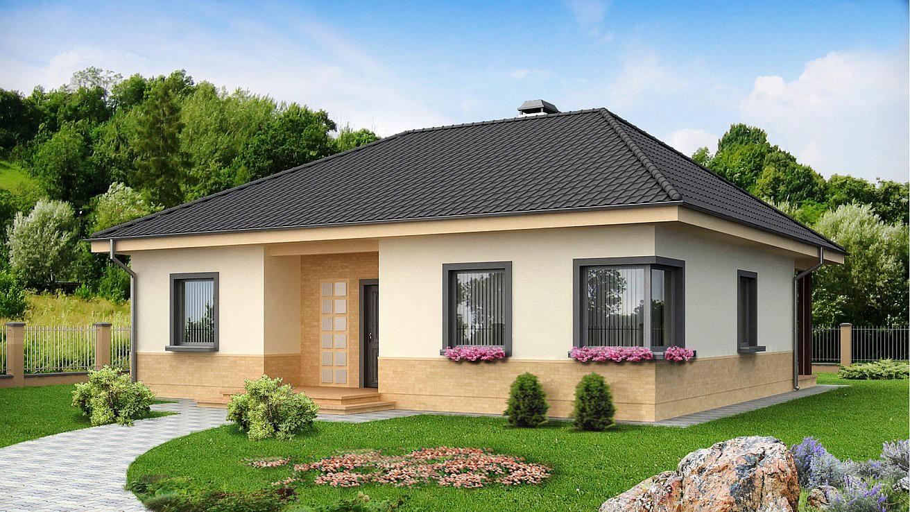 """Одноэтажный жилой дом """"Барбарис"""""""