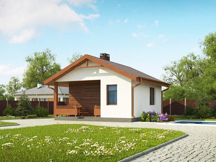 """Одноэтажный жилой дом """"Кипр"""""""