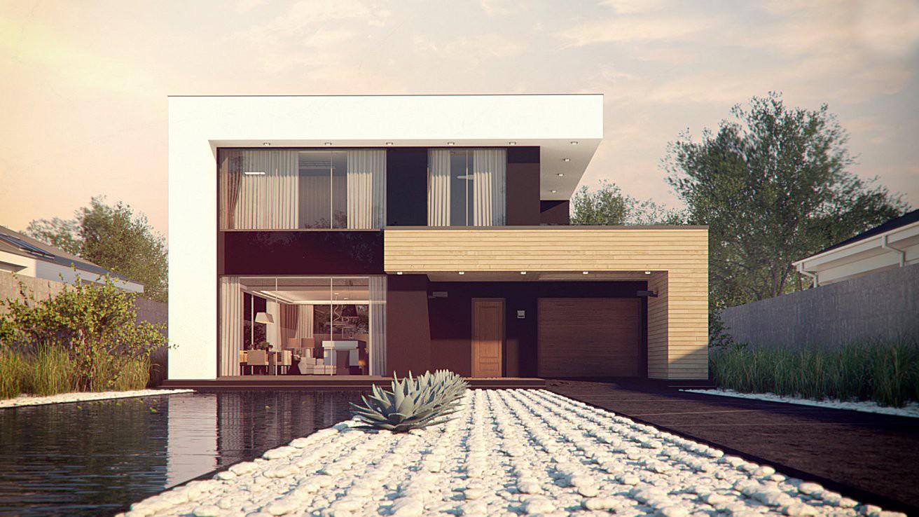 """Двухэтажный жилой дом """"Сатурн"""""""