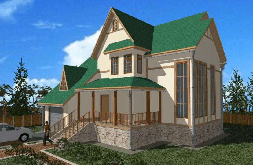 """Двухэтажный жилой дом """"Яна"""""""