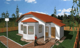 """одноэтажный жилой дом """"Омега"""""""