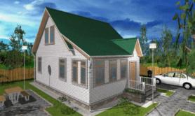 """Двухэтажный жилой дом """"Самара"""""""