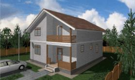 """двухэтажный жилой дом """"Прима"""""""