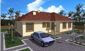 """одноэтажный жилой дом """"Данило"""""""