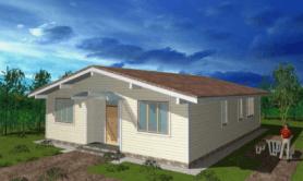 """одноэтажный жилой дом """"Бунгало"""""""