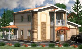 Двухэтажный жилой дом «Воронеж»