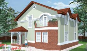 Двухэтажный жилой дом «Рада»