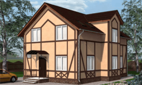 Двухэтажный жилой дом «Петр»