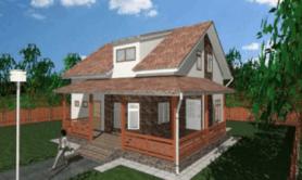 Двухэтажный жилой дом «Белоостров»