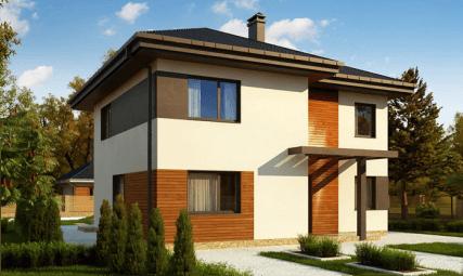 Двухэтажный жилой дом «Барон»