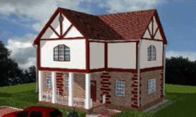 Двухэтажный жилой дом «Карина»
