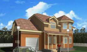 Двухэтажный жилой дом «Эдуард»