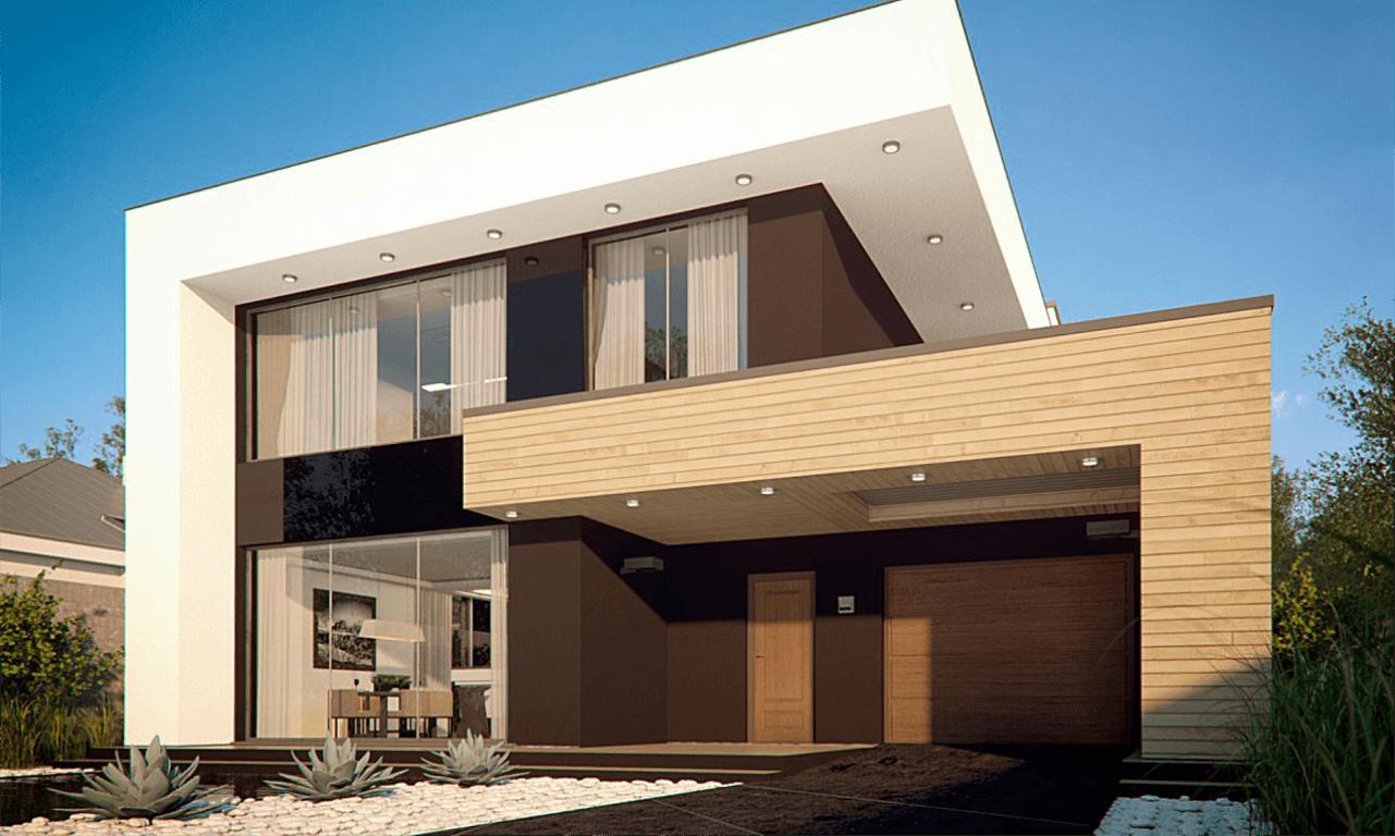 Двухэтажный жилой дом «Венера»