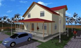 Двухэтажный жилой дом «Лидия»