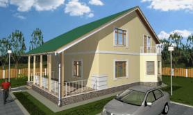 Двухэтажный жилой дом «МП-2»