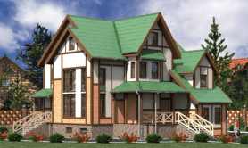 Двухэтажный жилой дом «Ирина»
