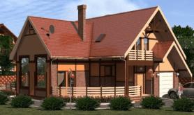 Двухэтажный жилой дом «Стоун»