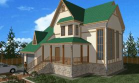 Двухэтажный жилой дом «Яна»