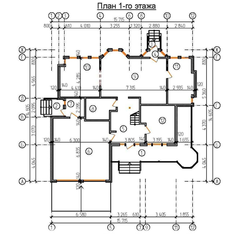 """Двухэтажный жилой дом """"Амберлей"""""""