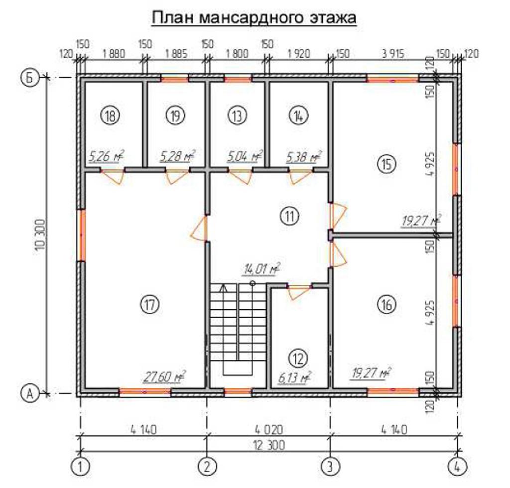"""Двухэтажный жилой дом """"Тополь"""""""