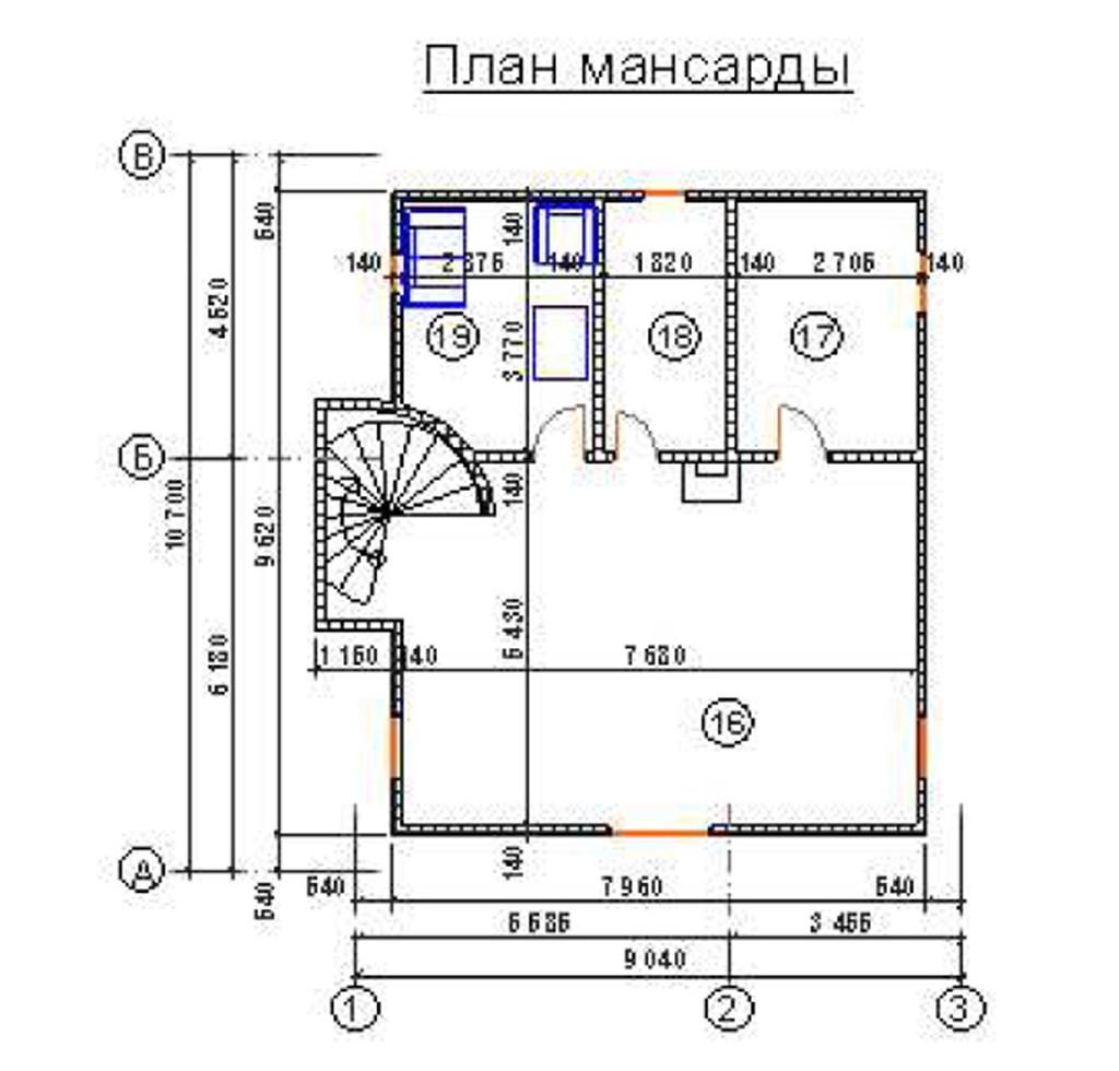 """Двухэтажный жилой дом """"Екатерина"""""""