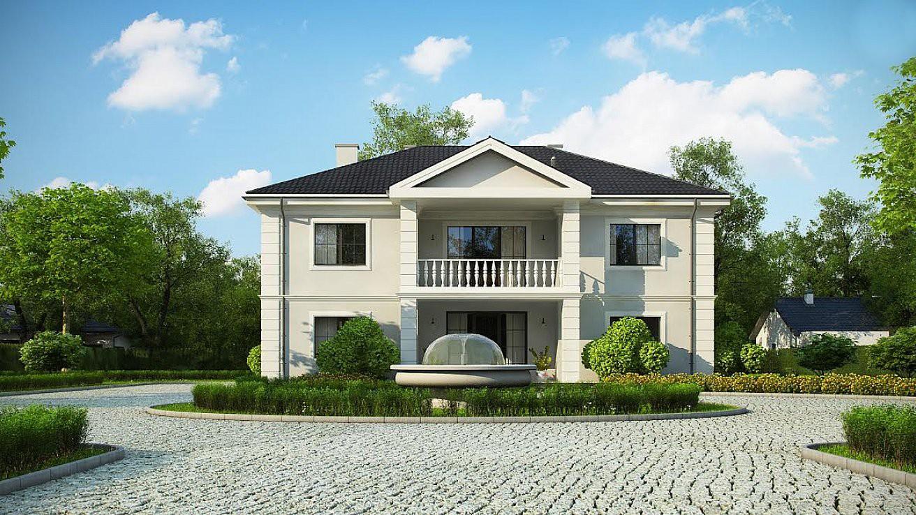 """Двухэтажный жилой дом """"Зевс"""""""
