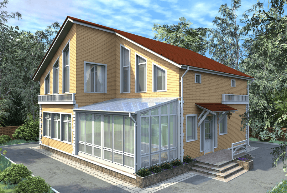 """Двухэтажный жилой дом """"Гермес"""""""