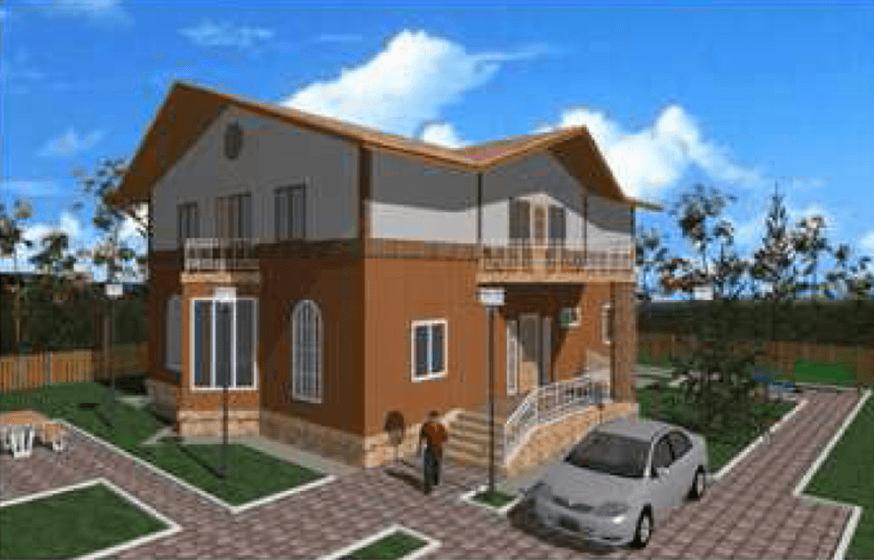 """Двухэтажный жилой дом """"Радмир"""""""
