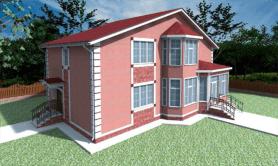 """Двухэтажный жилой дом """"Ева"""""""