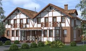 Сблокированный двухэтажный жилой дом «Элла»