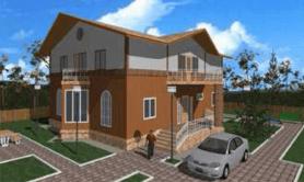 Двухэтажный жилой дом «Радмир»