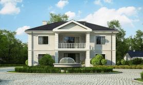 Двухэтажный жилой дом «Зевс»