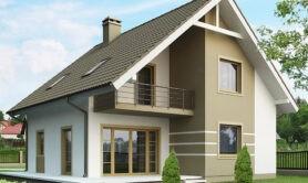 Двухэтажный жилой дом 129,7 м