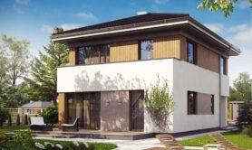 Двухэтажный жилой дом 114