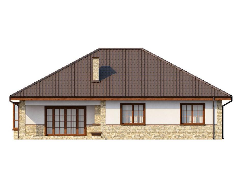 Одноэтажный жилой дом 134,3 м