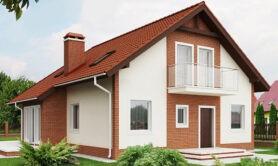 Двухэтажный жилой дом 170,4 м