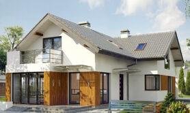 Двухэтажный жилой дом 170,8 м