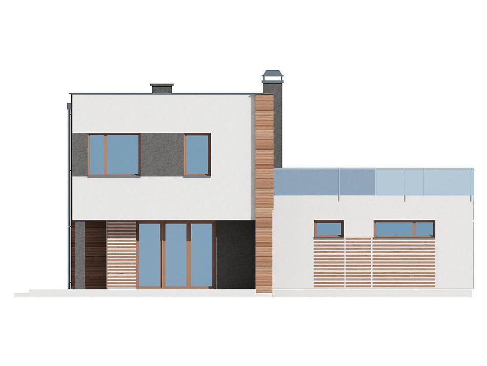 Двухэтажный жилой дом 110,99 м