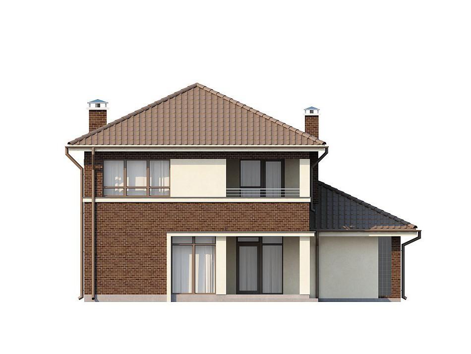 Двухэтажный жилой дом 136,2 м